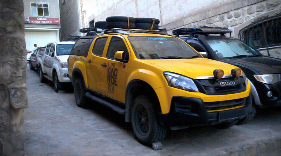 TRIGEN Automotive Long Range Expedition Vehicle