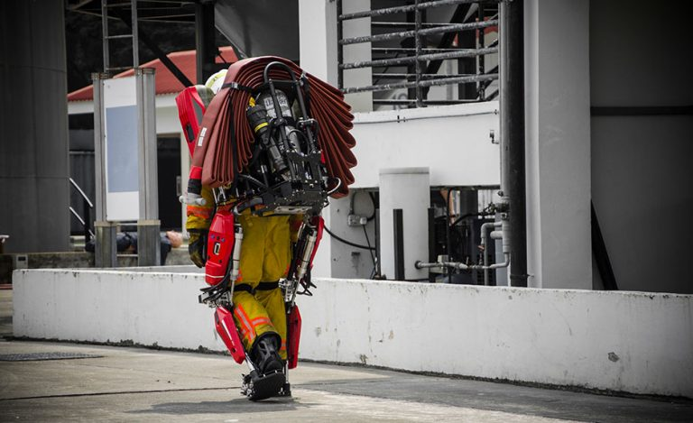 Auberon Pneumatic Exoskeleton